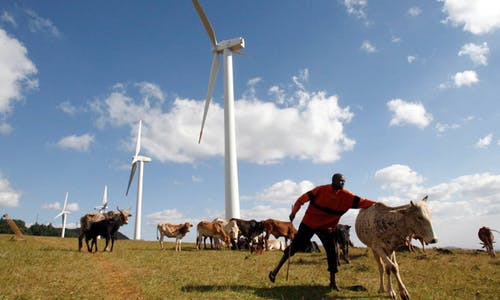 Africa needs cash, science for new model of green development