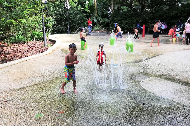 kids cool off