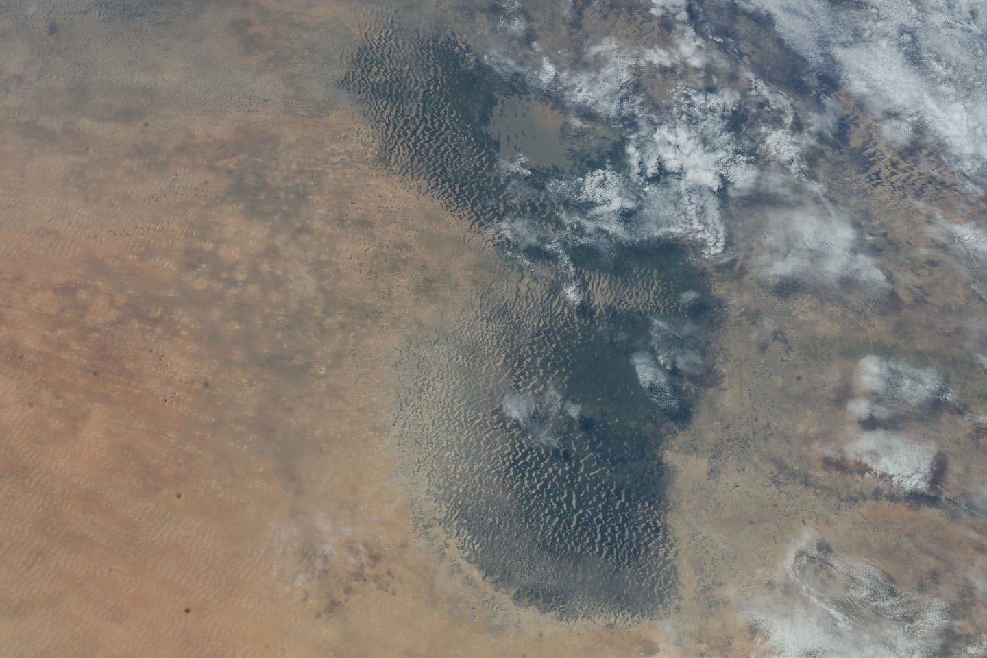 nasa lake chad