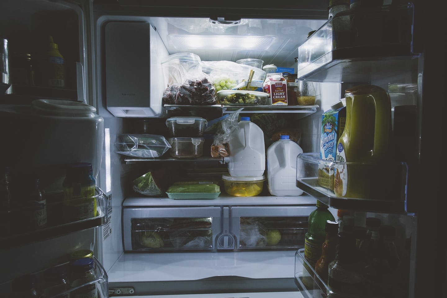 home fridge