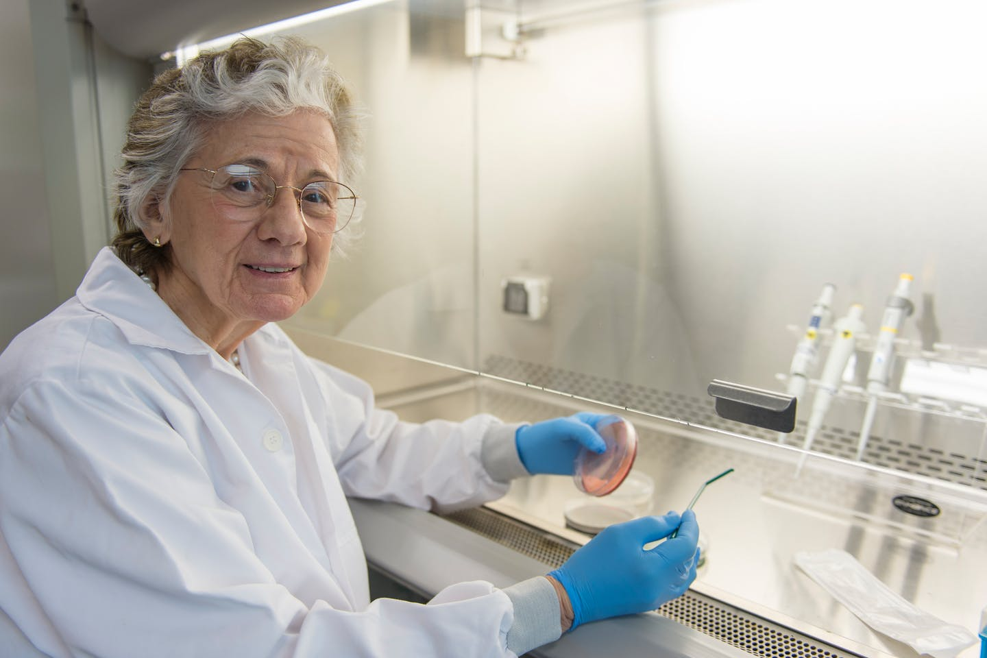American microbiologist Rita Colwell