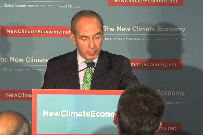 Felipe Calderon and The New Climate Economy