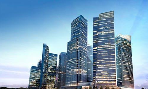 What makes Marina Bay Financial Centre tick