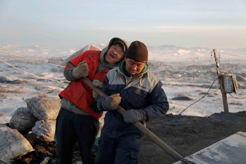 people working in coal mines in Ulaanbaatar