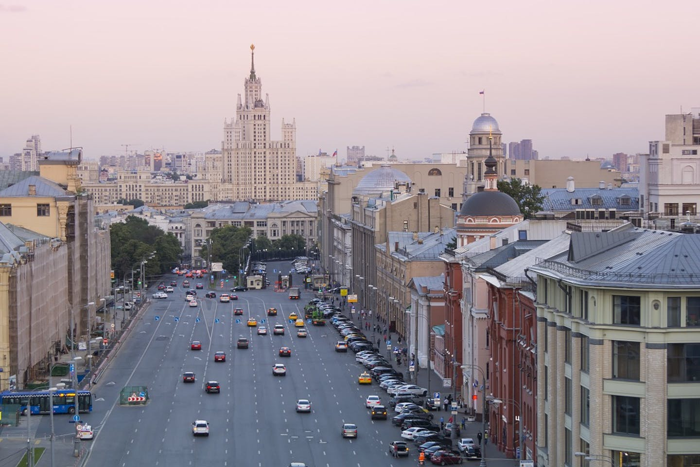 moscow downtown