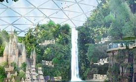 Dubai unveils world's first climate-controlled 'Mall of the World'