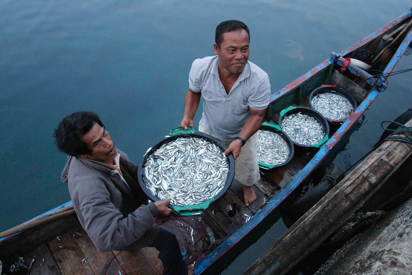 small-scale fishermen