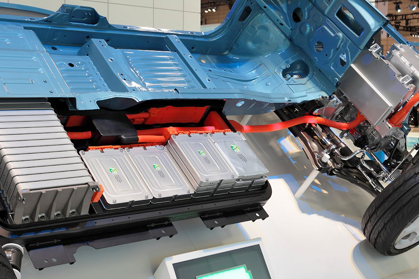 Nissan Leaf Li-On battery