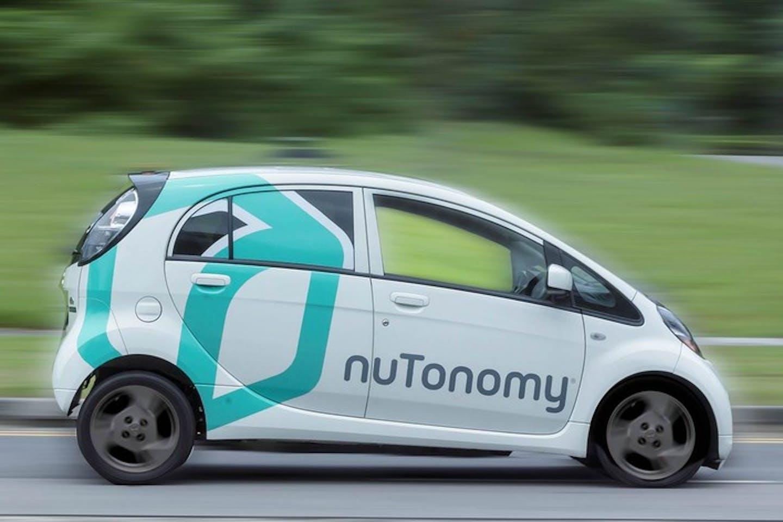 nuTonomy's autonomous vehicle