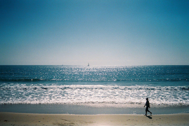Oceanfront stroll