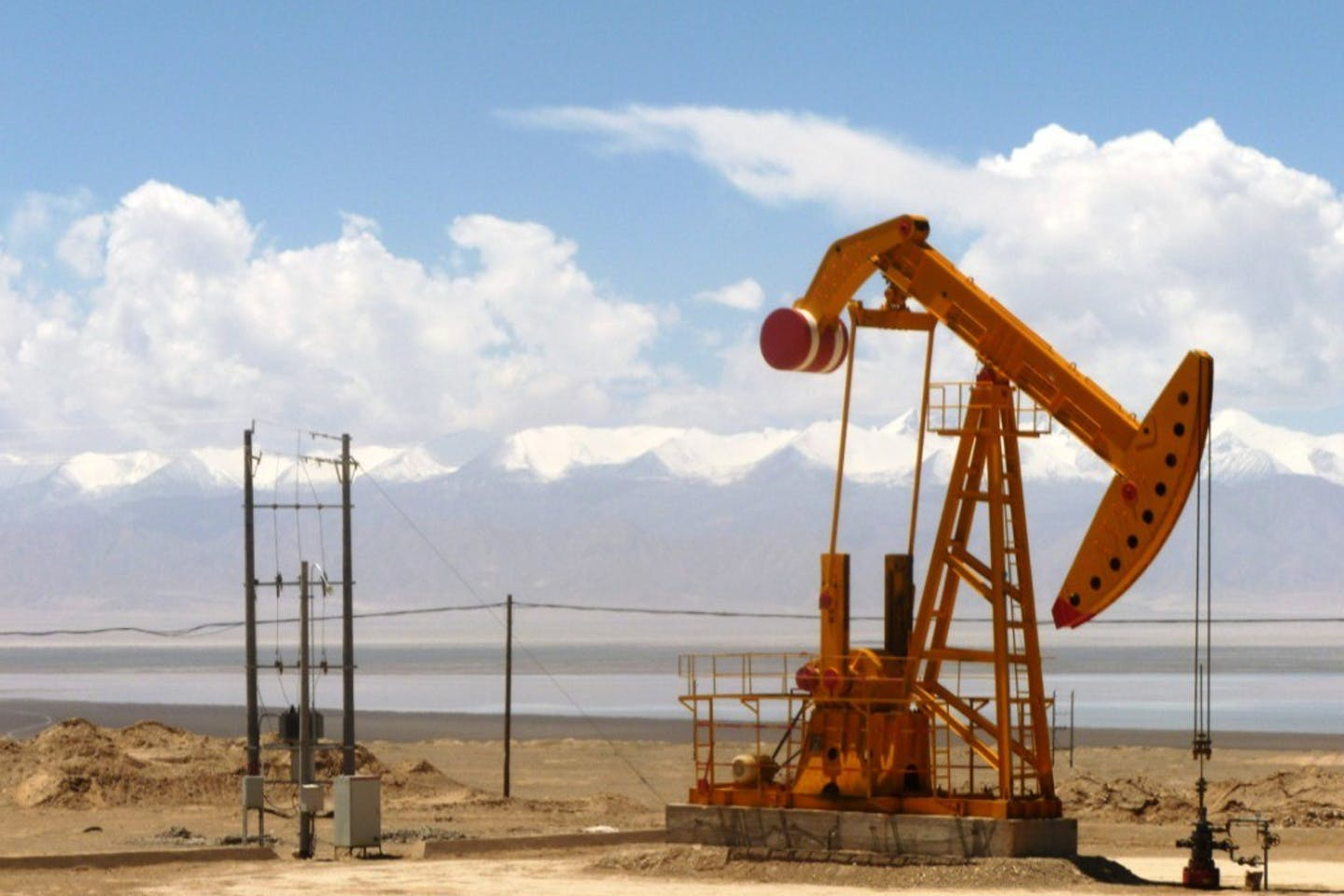 oil well china