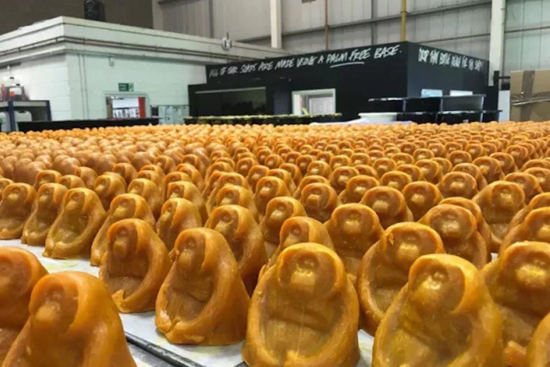 Lush orangutan soap. Image: Lush