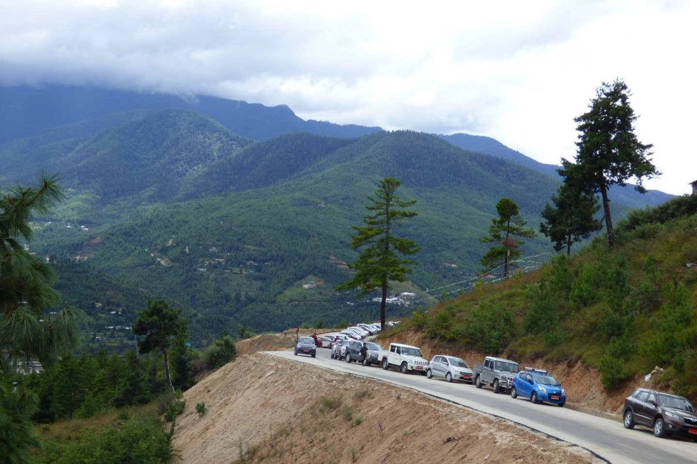 vehicles in Bhutan