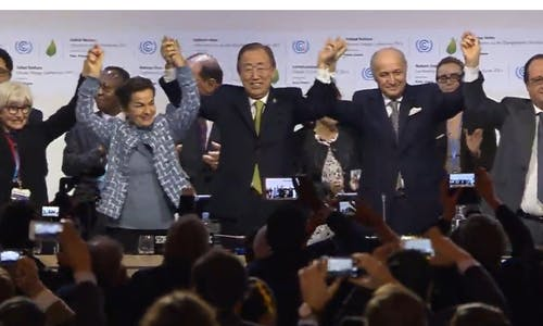 """Paris agreement marks """"turning point"""" in history"""