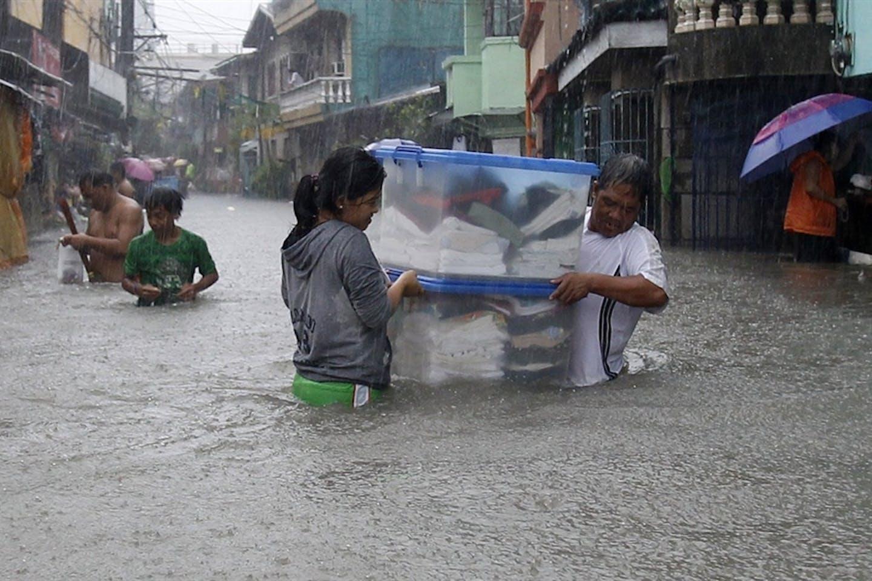 Storm Trami in Manila