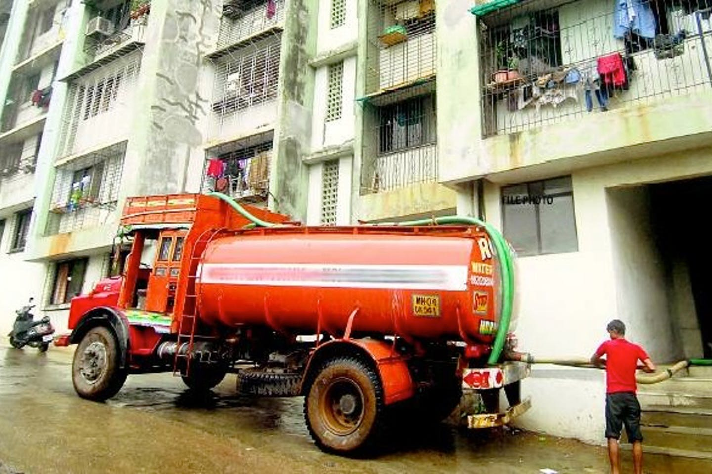 Tanker mafia in India