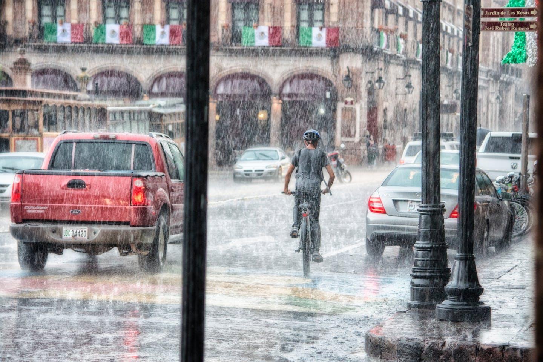 Rains in Mexico