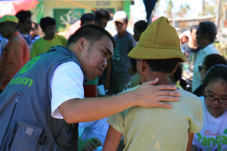 oxfam aid haiyan