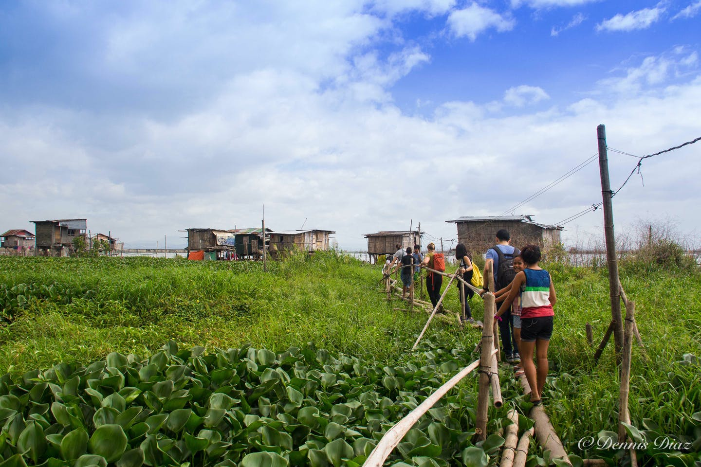 Filipinos in typhoon and flood-prone communities