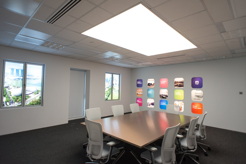 philips lighting application center singapore