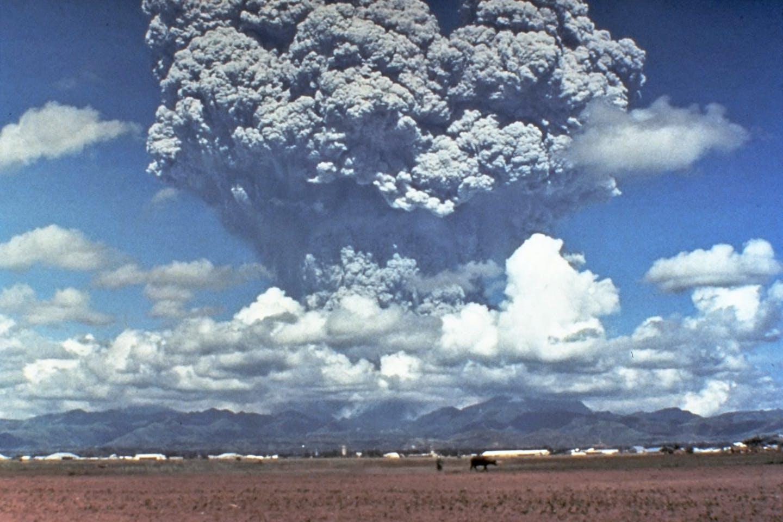 Mt Pinatubo Eruption