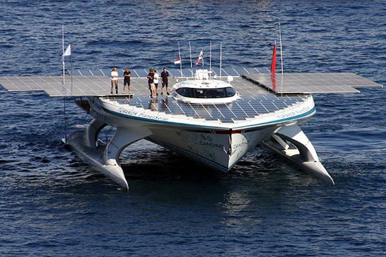 Turanor PlanetSolar boat