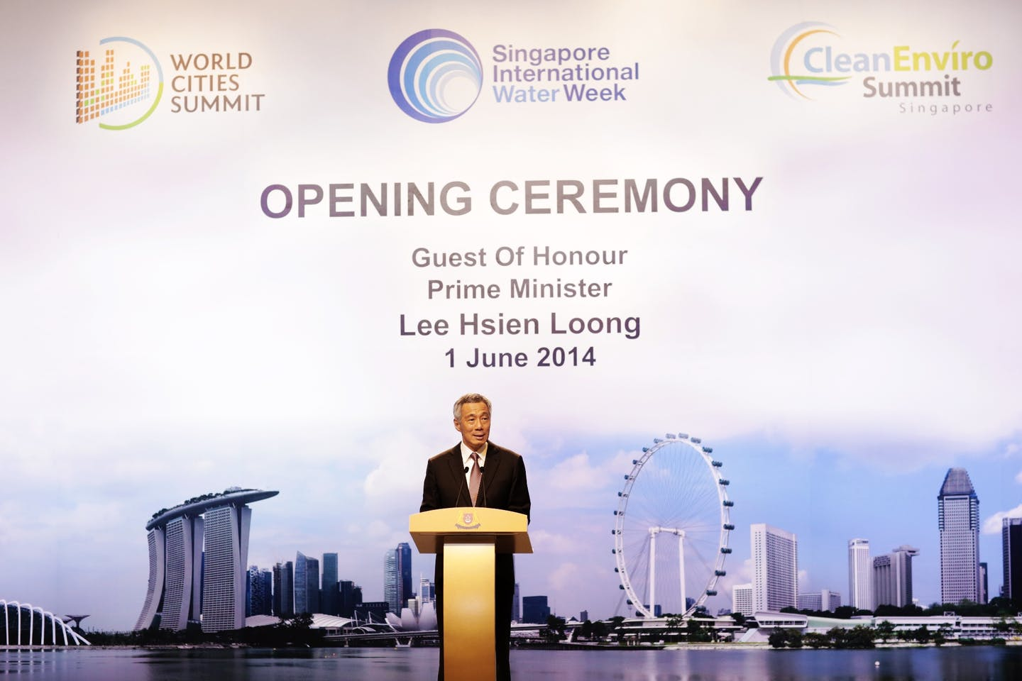 Lee Hsien Loong World Cities Summit