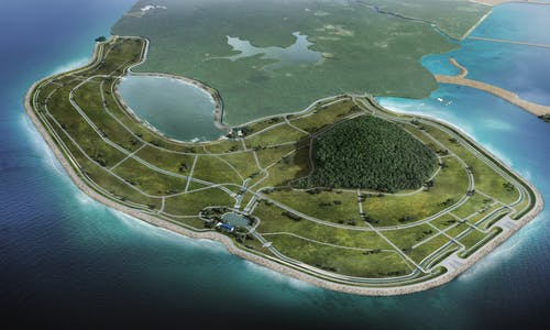 More land, less sand: Singapore's latest reclamation project