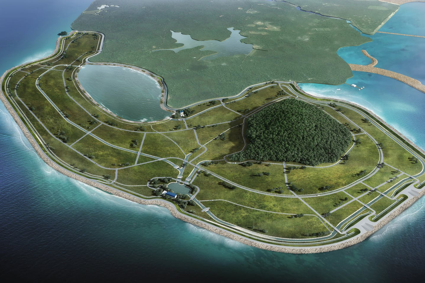More land, less sand: Singapore's latest reclamation project | Videos |  Eco-Business | Asia Pacific