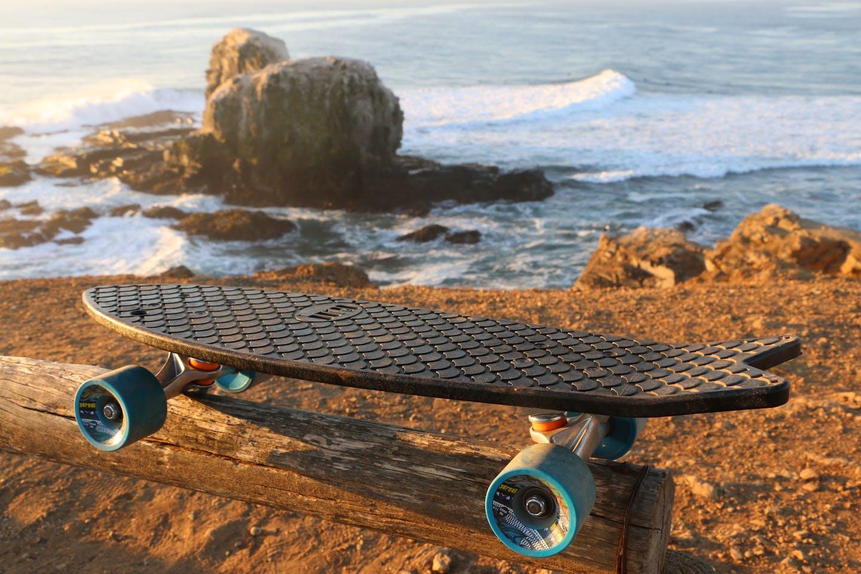 Bureo board in Punta de Lobos, Chile