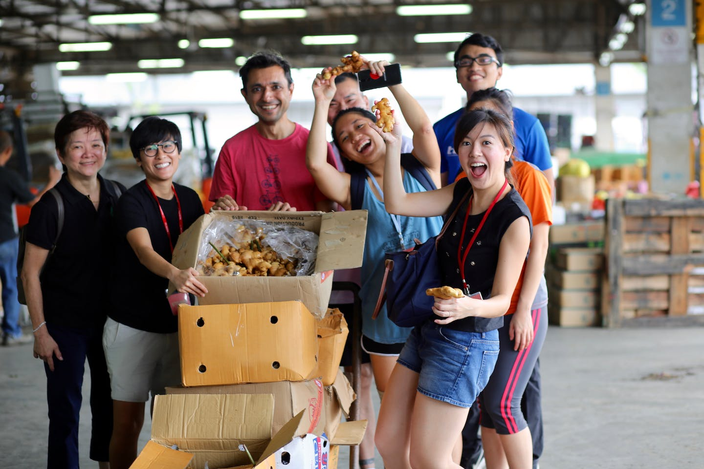 sg food rescue volunteers rescue ginger