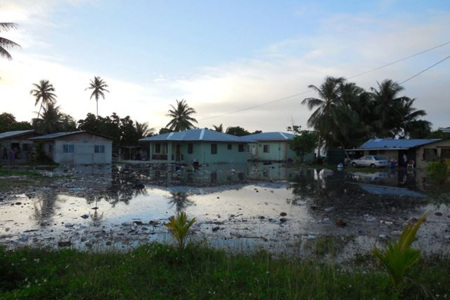 Flooding in the Marshall Islands