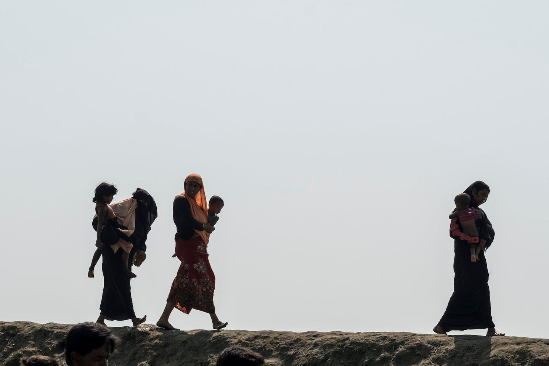 rohingya bangladesh border