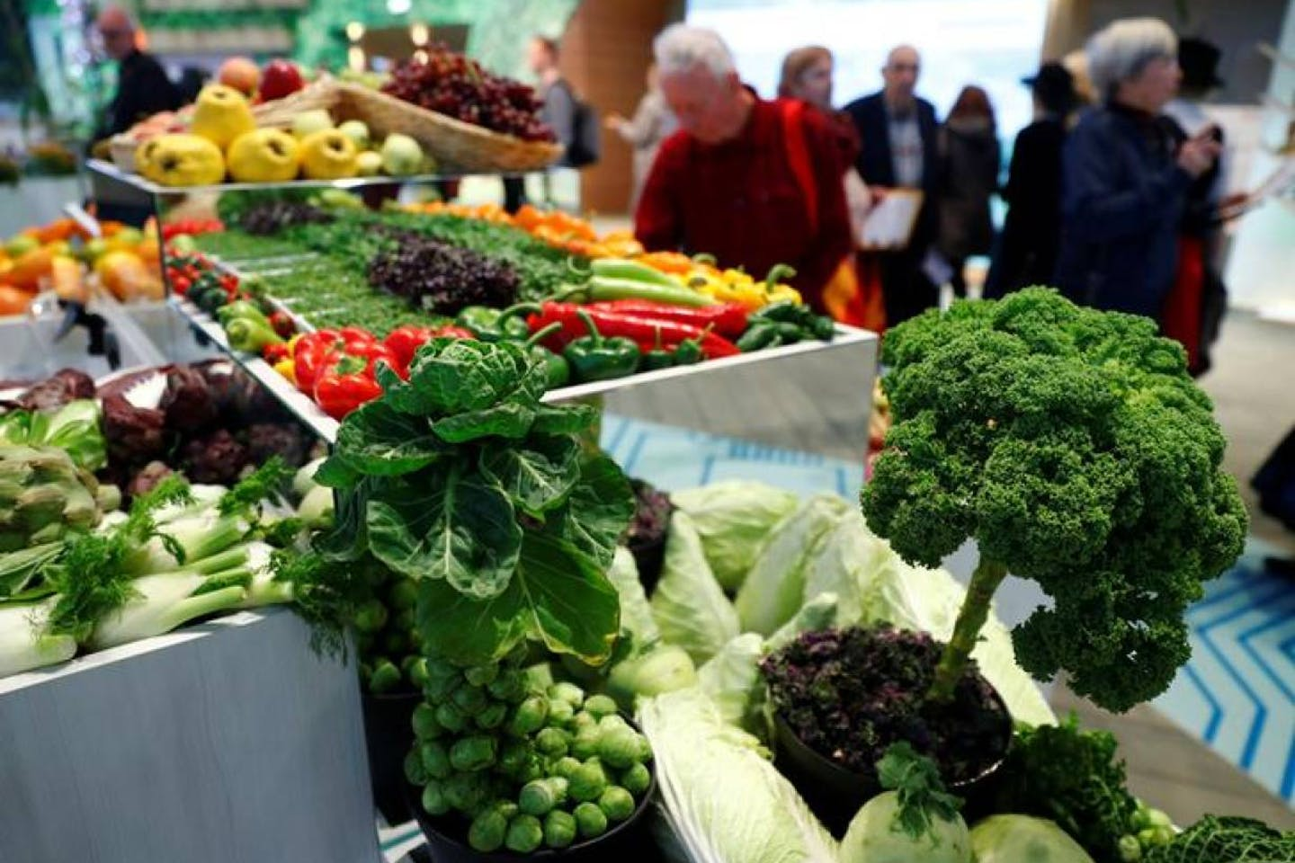 International Green Week veggies showcase