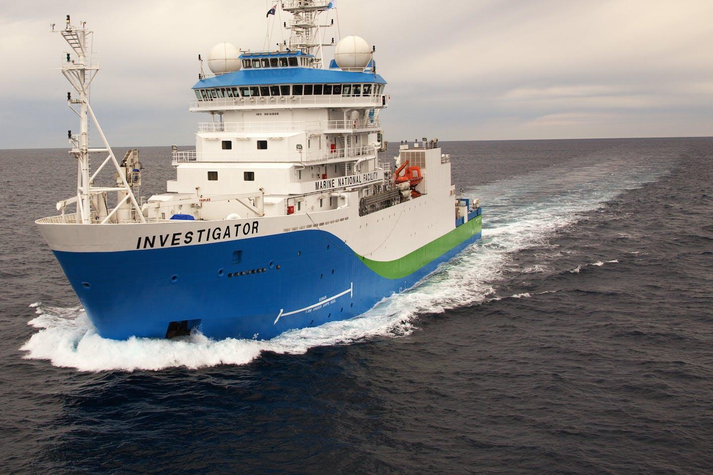 CSIRO's RV Investigator v2