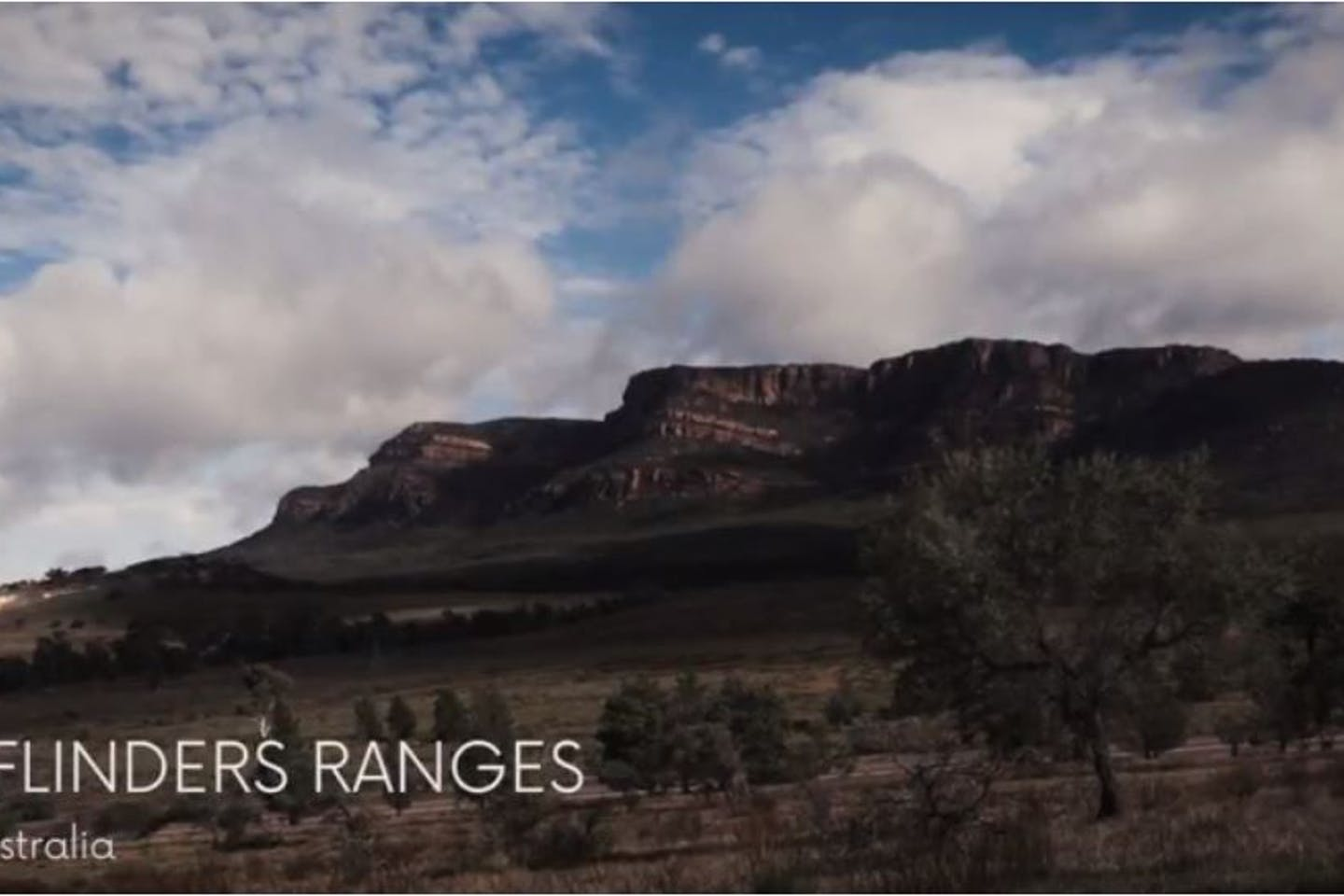 Screen Grab: Flinders Ranges Australia