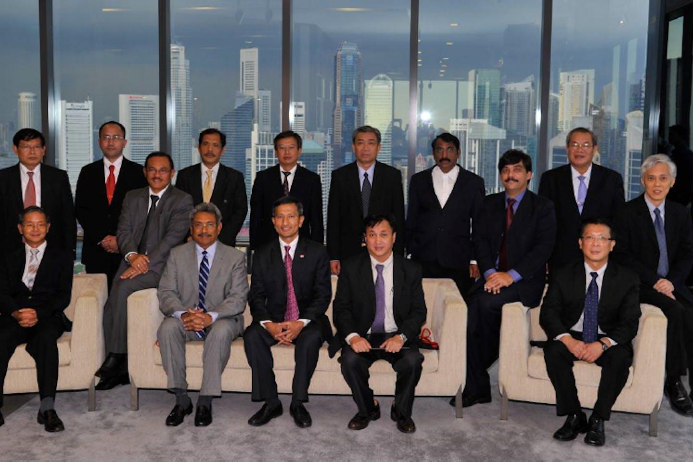 Asian leaders at TFLUGP