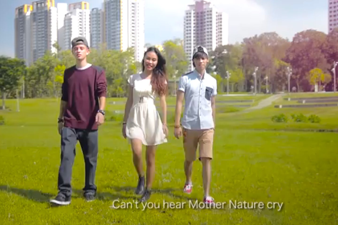 Mother Nature's Cry music video