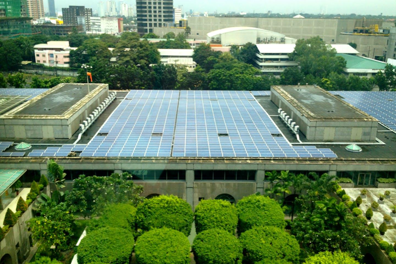 ADB solar panels