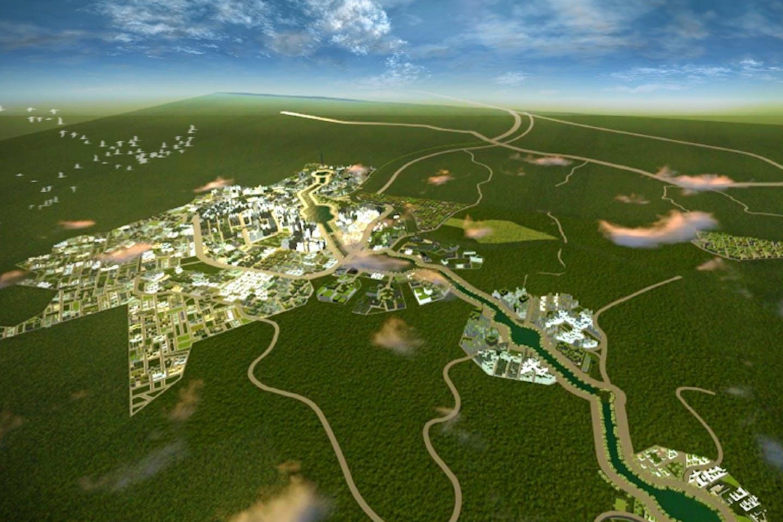 Clark Green City project