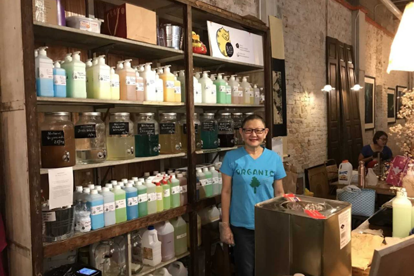 "Loke Poh Lin launched the Bliss Zero Waste Store in Malaysia this year. ""We should have such stores in every neighbourhood,"" she says. Image: Carolyn Hong"