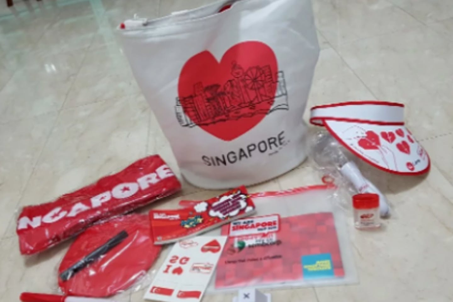 National Day Parade fun pack 2018