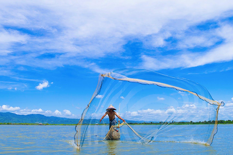indonesian fisherman