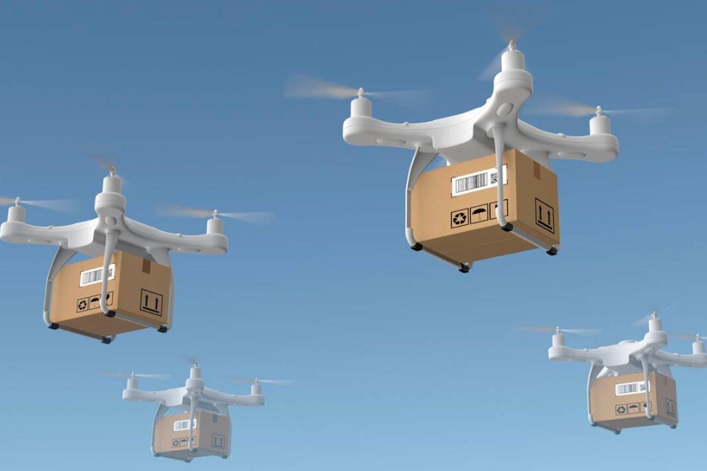 drones shopping