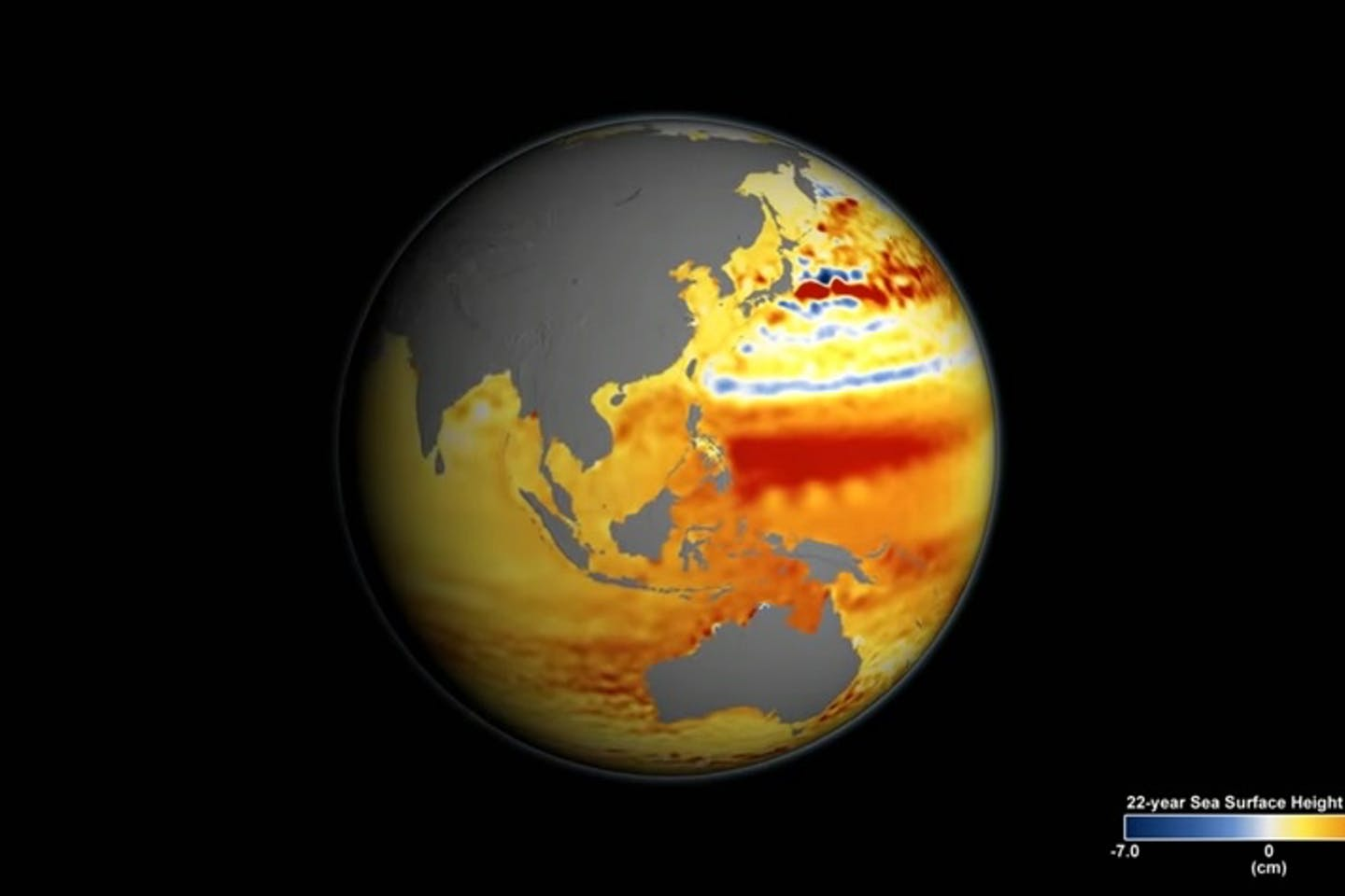 nasa visualisation sea level