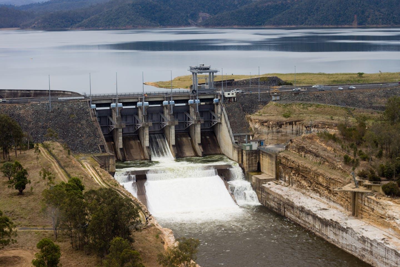 Australia dam