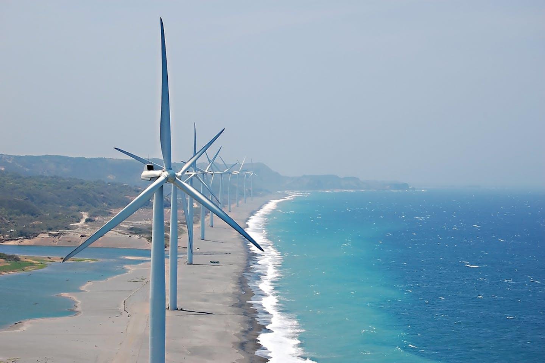 wind farm bangui