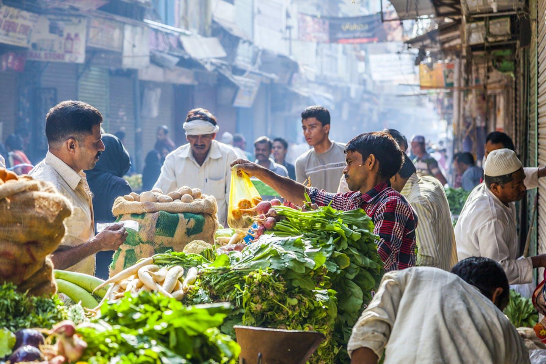 vegetable market delhi