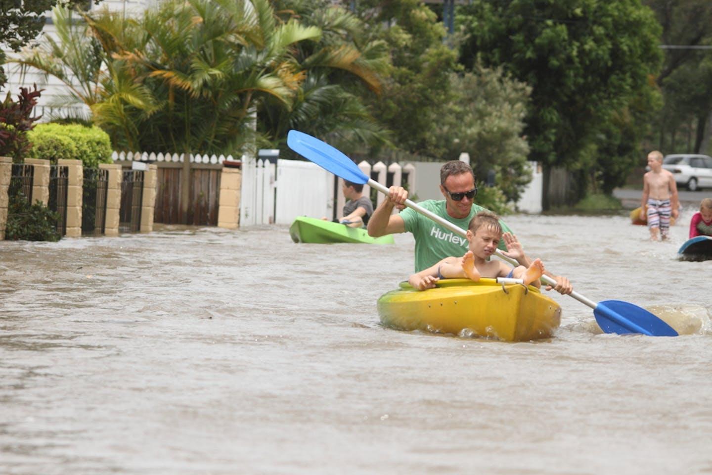 australia floodwaters