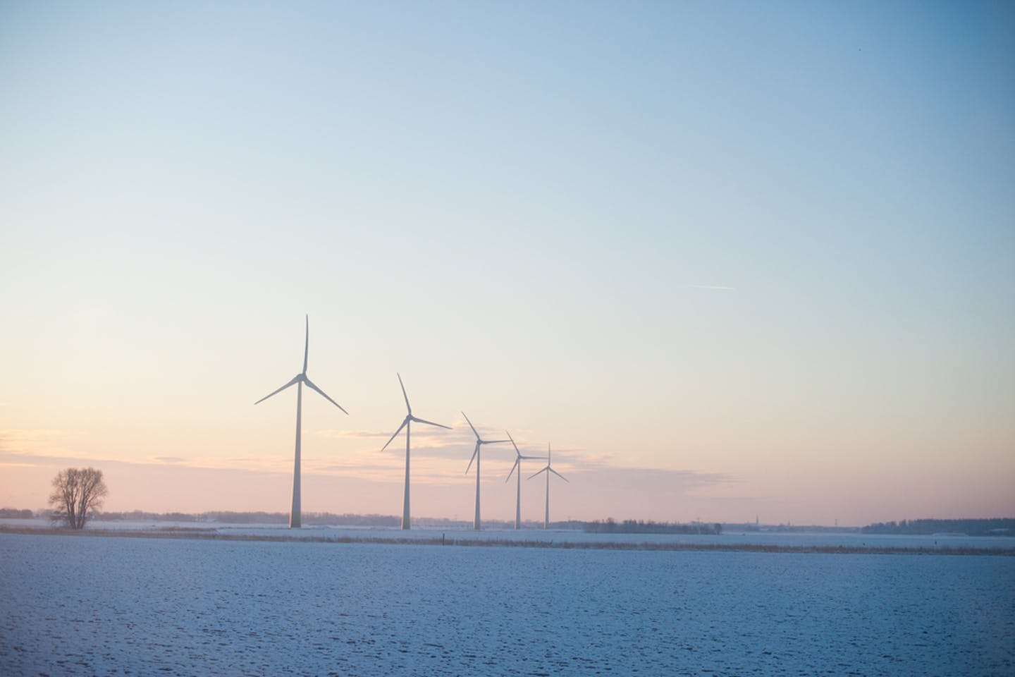 On-shore wind turbines in Europe